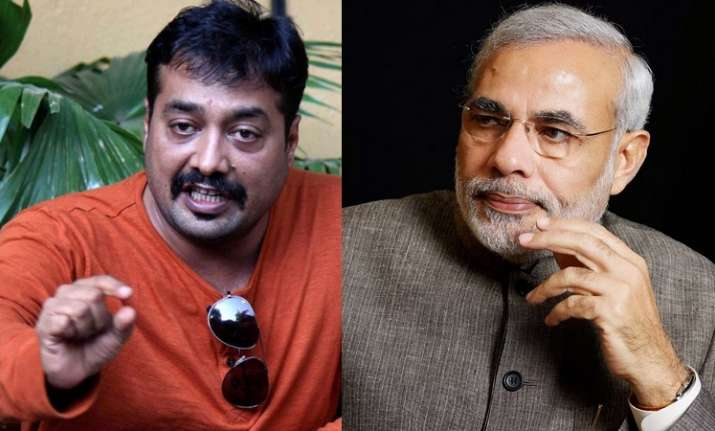 Anurag Kashyap and PM Modi
