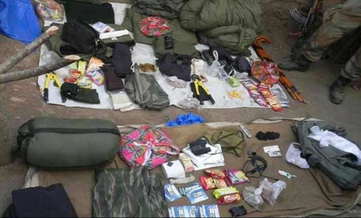 Recovered supplies indicate Pak's involvement in an Indian