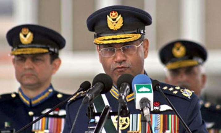 Pak air force chief
