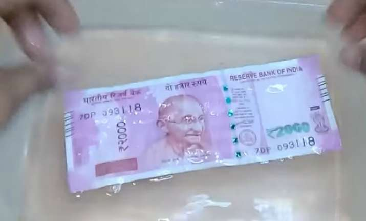 If new notes don't leak colour on rubbing, they are fake