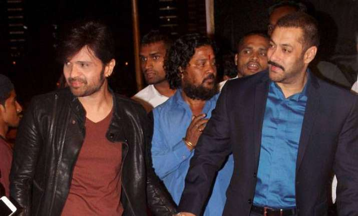 Himesh credits his success to Salman
