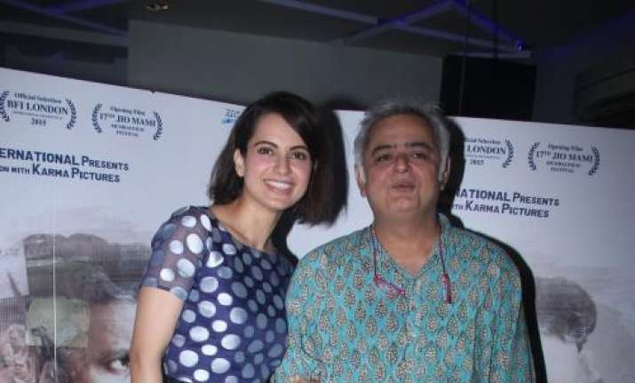 Hansal Mehta wraps up Las Vegas schedule of Kangana Ranaut