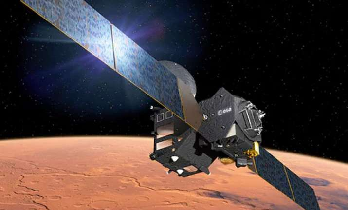 Europe's new Mars orbiter starts sending data from