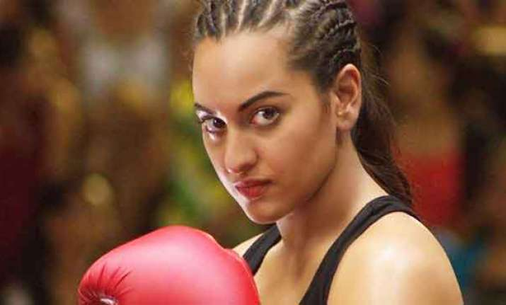 Sonakshi warns Force 2 cast
