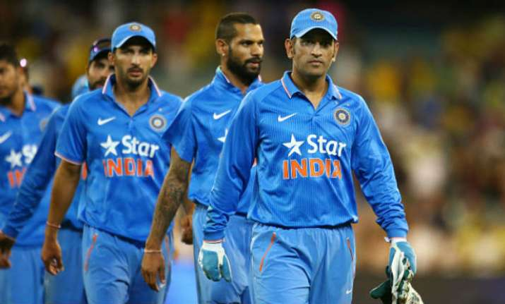 Dhoni steps down as the captain of ODI and T20 team.