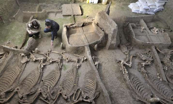 China, Beijing, Archaeologists, City