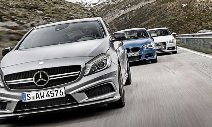 Mercedes' sales surpass that of BMW for the first time in