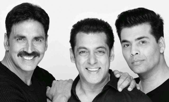 Akshay, Salman, Karan- India Tv