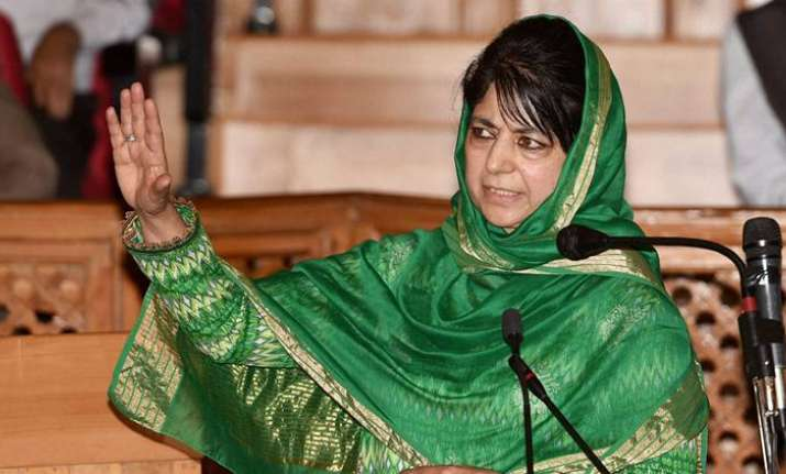 Mehbooba Mufti, Education Minister, Jammu