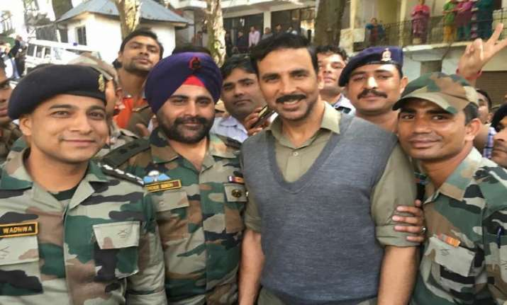 Akshay Kumar's love and respect for Indian Army