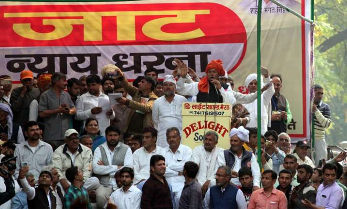 Jat protesters are planning a march to Parliament on