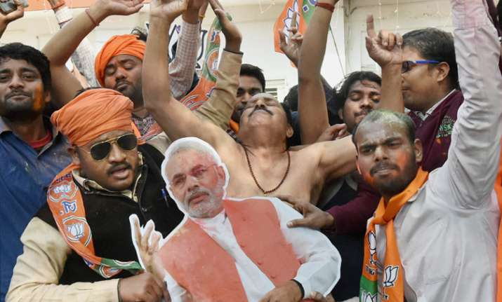 PM Modi thanks people for historic win in UP, Uttarakhand