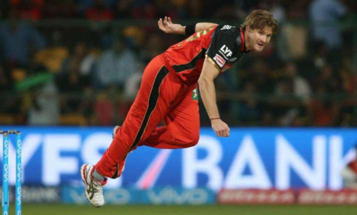 IPL 2017: Watson named interim RCB captain for IPL-10 opener