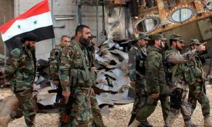 Syrian Army takes full control of major IS stronghold in
