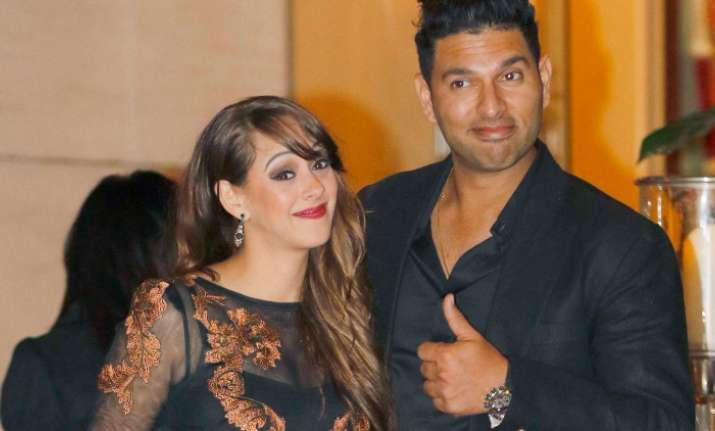 Yuvraj Singh and Hazel Keech in Nach Baliye?