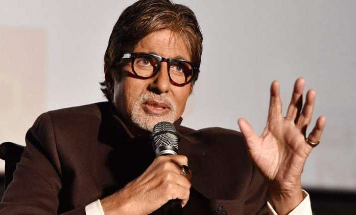 Big B gives book launch a miss due to high fever