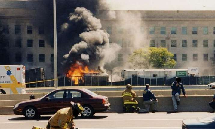FBI releases unseen photographs of 9/11 attacks