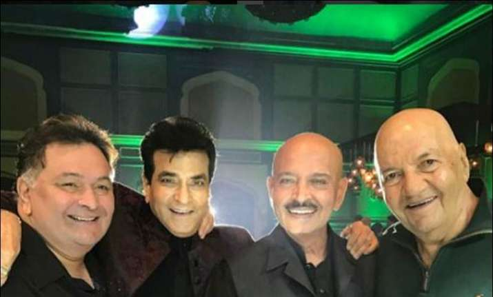 Jeetendra birthday party