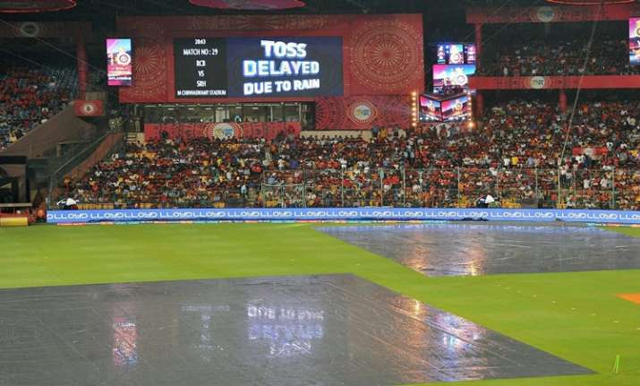 IPL 2017: RCB-SRH match abandoned due to persistent rain