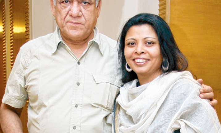 Nandita Puri on Om Puri ghost video