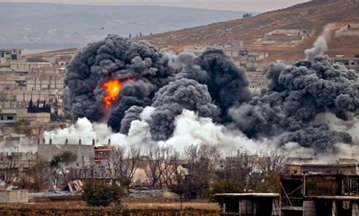 US deeply concerned about Turkey's airstrikes in Syria,