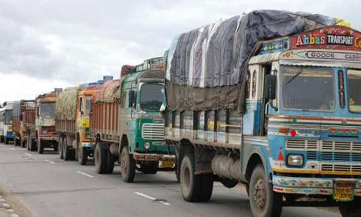 Truckers on indefinite strike against rise in insurance