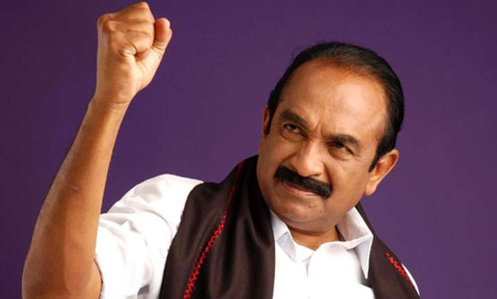 Vaiko sent to 15-day judicial custody for his 2009 speech