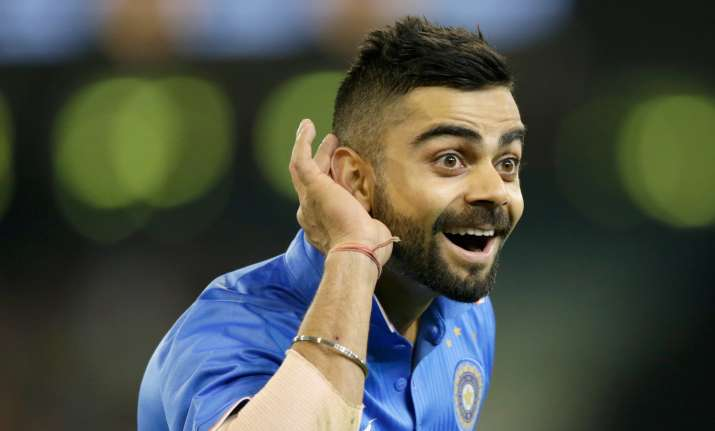Virat Kohli responds to #BreakTheBeard trend