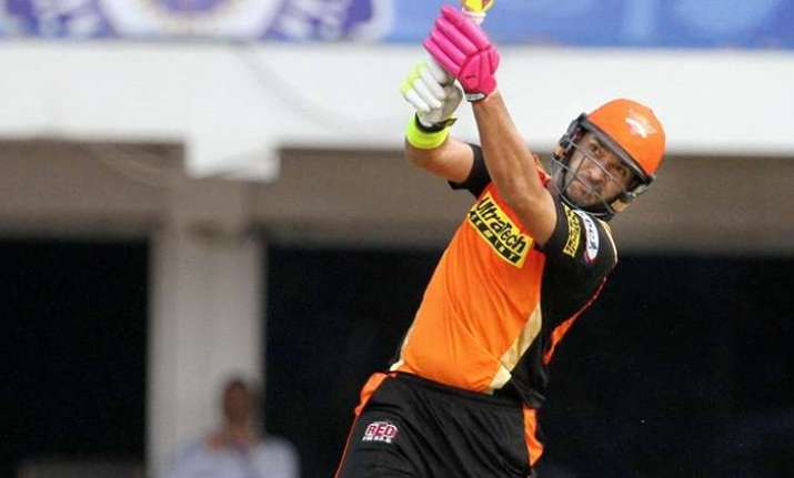 Yuvraj slams 23-ball 50 with a massive six