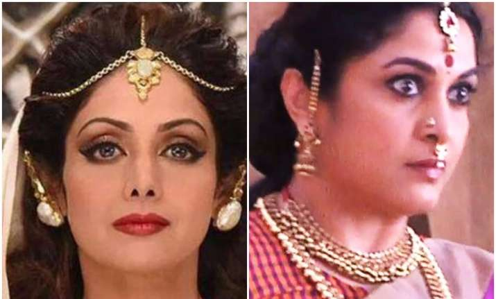 This is why Sridevi rejected Sivagami's role in Baahubali