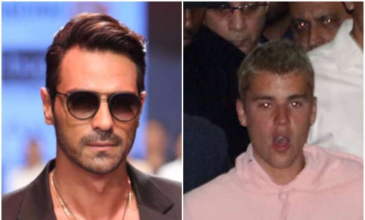 Arjun Rampal misbehaved with photographer at Justin Bieber