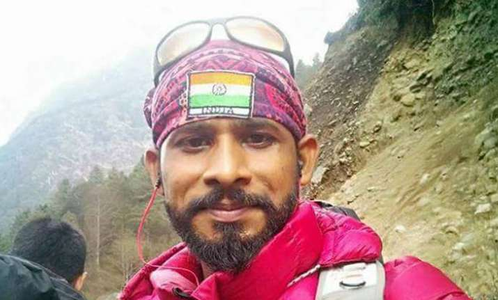 Indian goes missing after successfully climbing Mount