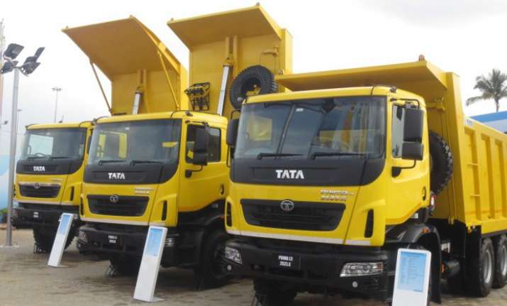 Tata Motors expects 15 pc growth in commercial vehicles