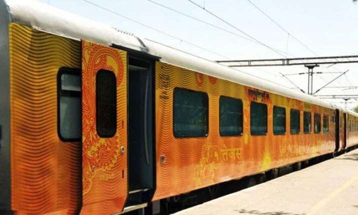 Semi-Luxury Tejas Express returns to Mumbai with littered