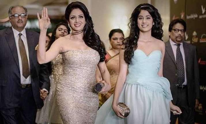 Sridevi on daughter Jhanvi Kapoor