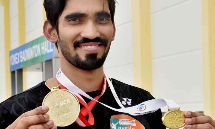 A file image of Kidambi Srikanth.