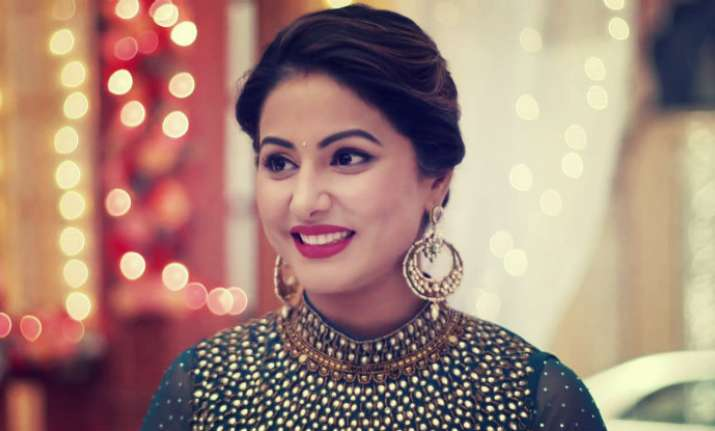 Hina Khan Khatron Ke Khiladi Colors Channel Spain