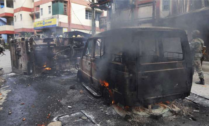 Three dead, officer critical in GJM-Police clashes