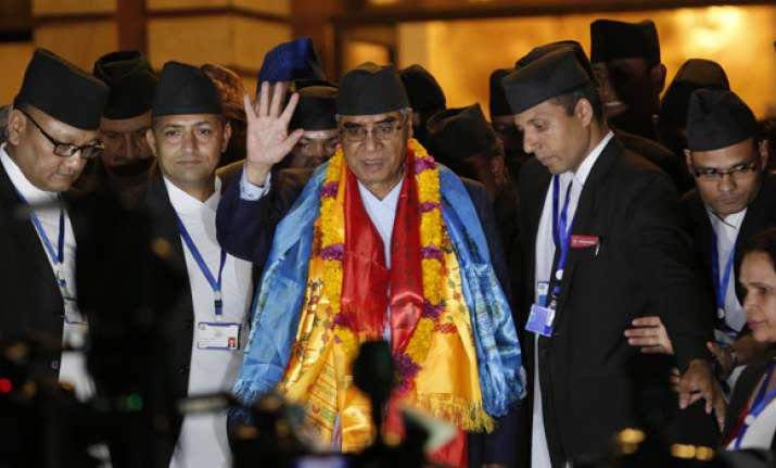 Deuba sworn in as new Nepal PM, forms Cabinet with seven