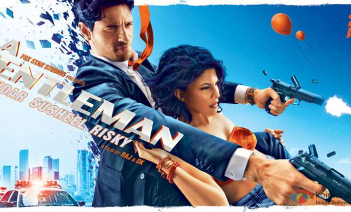 A Gentleman posters out: Sidharth Malhotra and Jacqueline