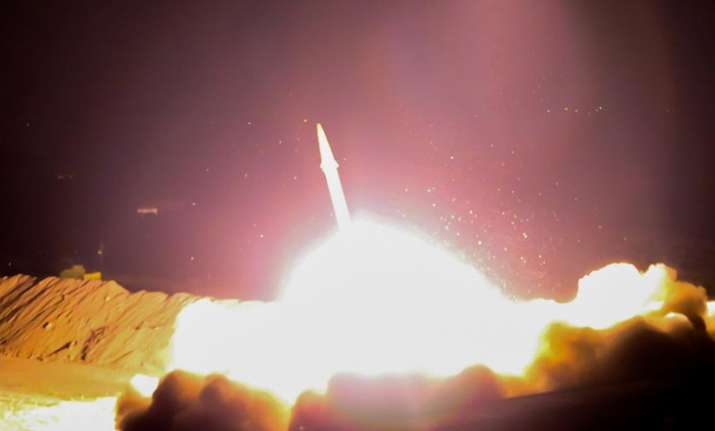 Iran fires missiles into Syria in revenge for Tehran attacks