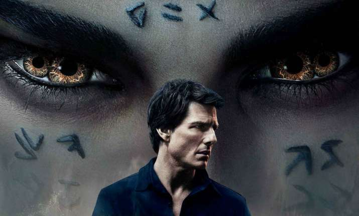 The Mummy. Tom Cruise film poster