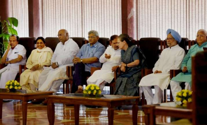 Opposition divided ahead of today's crucial meet, Congress