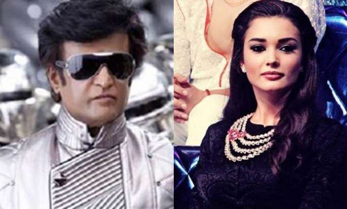 Rajikanth and Amy Jackson to star in 2.0