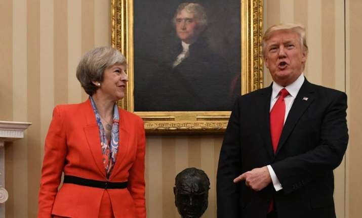Trump offers 'warm support' to Theresa May after poll