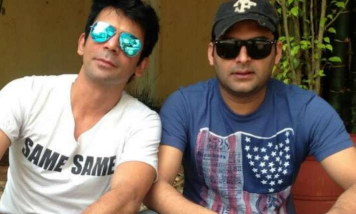 Kapil Sharma on Sunil Grover