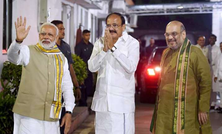 Venkaiah Naidu has been chosen as NDA's vice-presidential