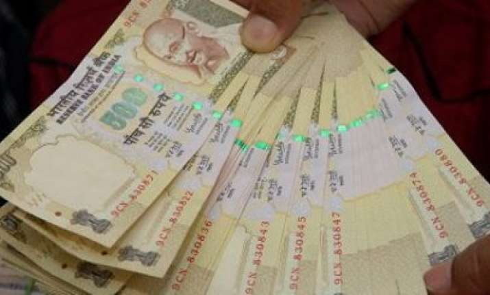 Demonetised Rs 500 currency