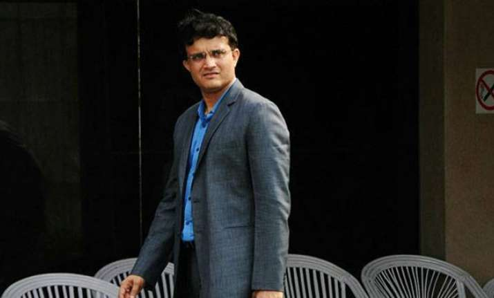 A file image of Sourav Ganguly.