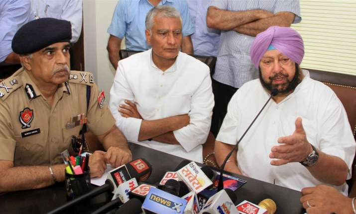 """Punjab CM Amarinder Singh said there was """"total normalcy"""""""